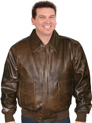 A2 AIRFORCE LEATHER JACKET