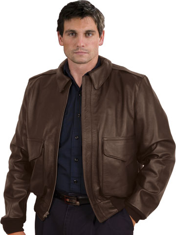 A2 Airforce Goatskin Leather Jacket