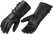 870 Deerskin Gaunlet Gloves with Adjusting Strap