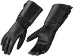 859 Ladies Deerskin Gauntlet Gloves with Adjusting Strap