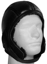 Leather Aviation Helmet
