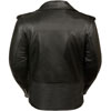 LC2701 Ladies Biker Jacket with Laces Back View