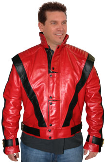 Thriller Biker Leather Jacket