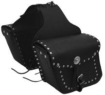Diagonal Saddle Bag 1 With Studs & Conchos