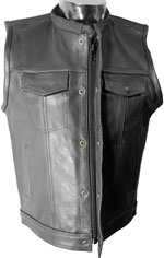 V320Z Mens Club Vest with Zipper