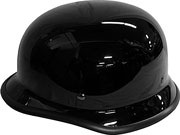 German Novelty Gloss Black Helmet